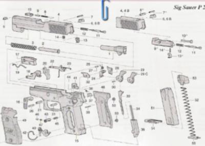 Pistola Sig Sauer P226X SIX